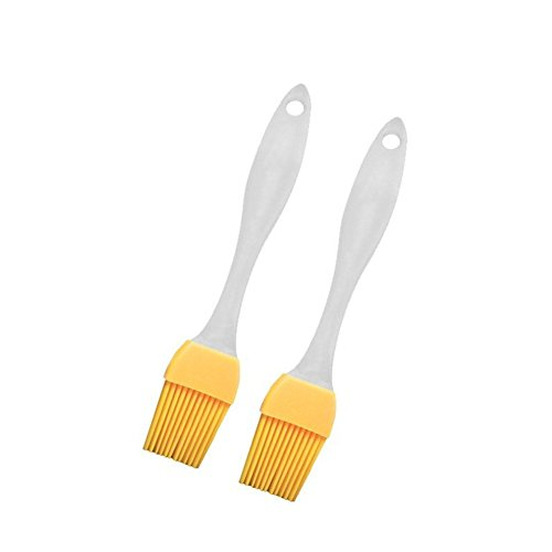 Tofree 2 Stücke Silikonbürste Hochtemperatur-Grillbürste Ölbürste Braten Creme Utensil Küchenpinsel Creme Utensil