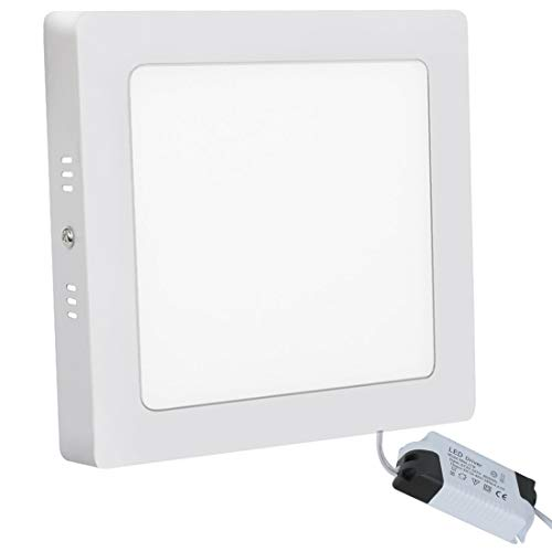 LED Panel Light Platz Flush Mount LED Ceiling Light Bürodeckenleuchten 24W 3000K Panel Downlight Beleuchtung für Bad Küche Schlafzimmern Wohnzimmer Konferenzräume Büro Energiesparend XYD® -