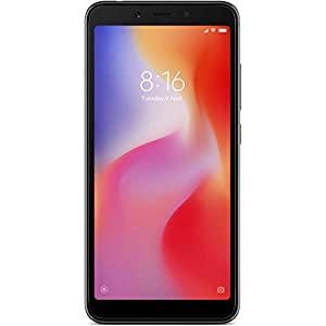 Xiaomi Redmi 6A (Black, 16GB)