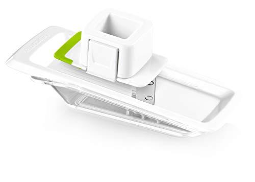 Tescoma 643848 Rallador Ajo En Laminas Handy, Acero Inoxidable, Blanco, 27x10x5.3 cm