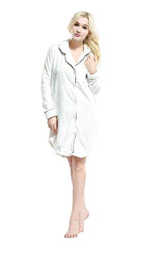 WOWPINK - Chemise de nuit - Femme 16-93004White