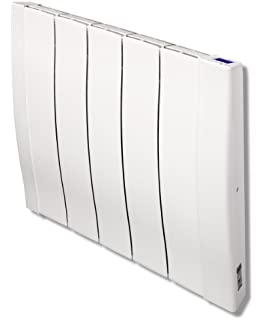 haverland designer rc wave rc5w 800 watt wall mounted electric radiator with timer and high precision