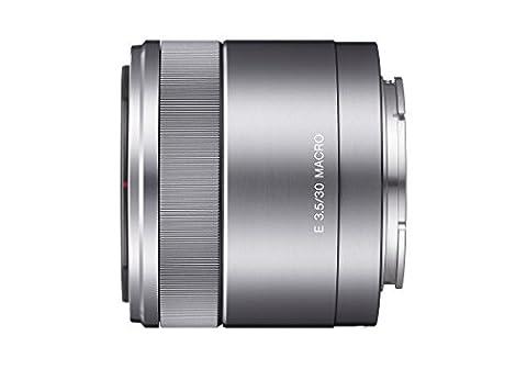 Sony SEL30M35, Makro-Objektiv (30 mm, F3,5, E-Mount APS-C, geeignet für