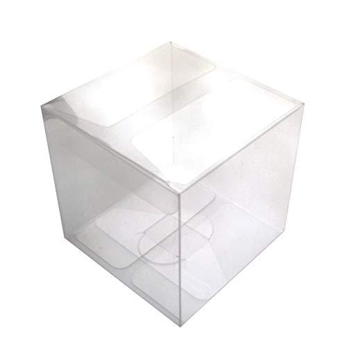 4cm klar Süßigkeit Treat Box Geschenk Verpackung Box für Baby Shower Hochzeit ()