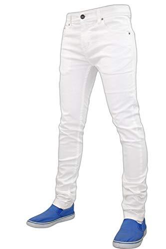 777623b192 G-72 Denim Herren Jeanshose weiß weiß 32W x 30L