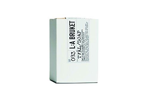L:a Bruket No.83 Bar Soap , Sage / Rosemary / Lavender, 1er Pack (1 x 120 g) - Flower Soap Bar Seife