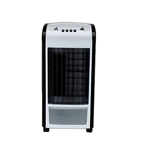 Mobile Klimaanlage Klein, 4 In 1 KlimageräTe Ventilator Luftbefeuchter Luftreiniger Klimaanlage Mini PersöNlicher LuftküHler füR Home Office Draussen mit Fernbedienung TWBB 2019 Neu (Schwarz) - Schwarz, Klimaanlage