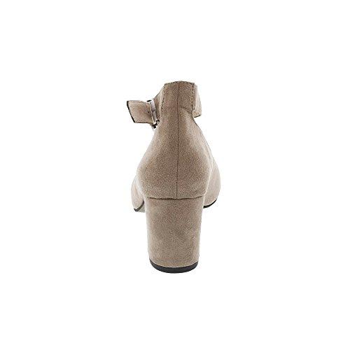 Tamaris1-1-24431-38/001 - Scarpe chiuse Donna pepe