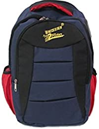 Goodness Bags - Casual Polyester Blue Backpack, Laptop Bag, College Bag, School Bag -Indian2Rister