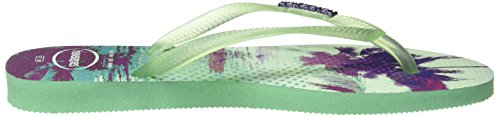 Havaianas - Slim Paisage, Sandalo da donna light green 1422