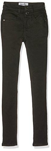 New Look 915 Girl's Highwaisted Bernie Jeans, Black, 10 Years
