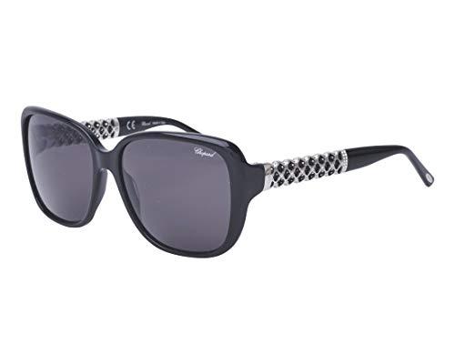 Chopard Sonnenbrillen (SCH-184-S 700) schwarz - silber - graufarben
