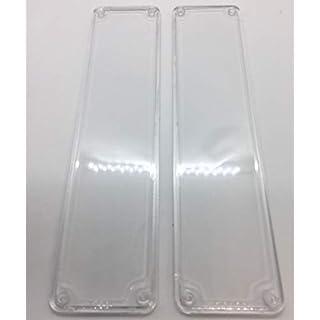 Remi Tools (R) 2 Clear Door Finger Push Plates.