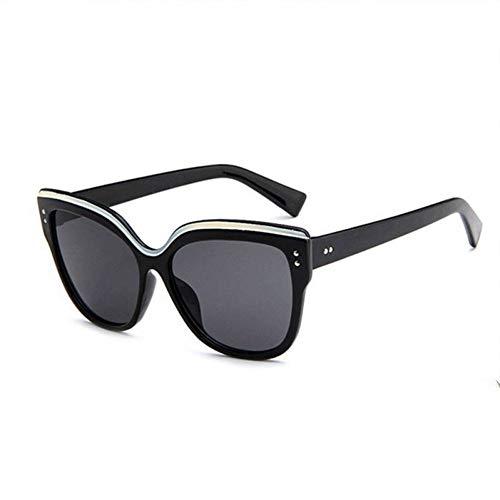 HSNCXD Sonnenbrillen Cat Eye Polarized light Sunglasses Women Eyebrows Mirror Butterfly Eyeglasses Vintage Eyewear Female UV400