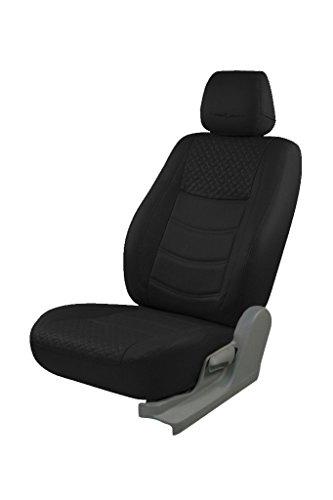 Trend Galaxy Black Art Leather Car Seat Cover for Mahindra KUV 100 K8