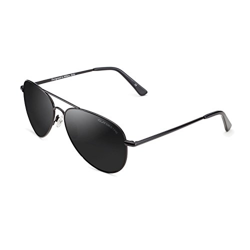 CLANDESTINE Black - Gafas de Sol de Nylon HD para Hombre & Mujer