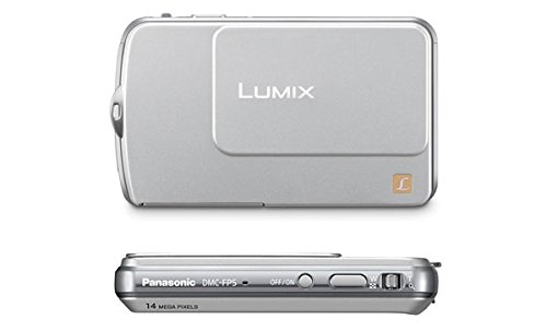 PANASONIC LUMIX DMC-FP7 SILVER DIGITAL CAMERA TOUCH LCD
