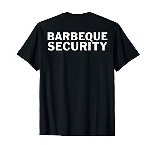 Lustigsten Halloween Kostüm - Halloween Kostüm Grill Liebhaber - Barbeque Security T-Shirt