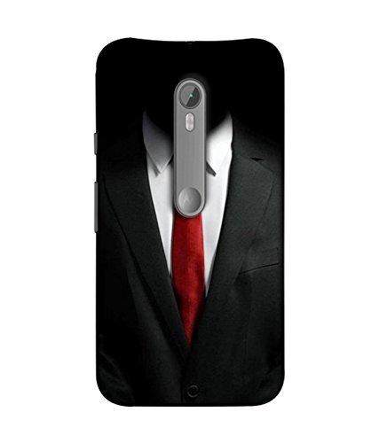 PrintVisa Designer Back Case Cover for Motorola Moto X Style :: Moto X Pure Edition (Suit shirt tie formal decent)  available at amazon for Rs.393