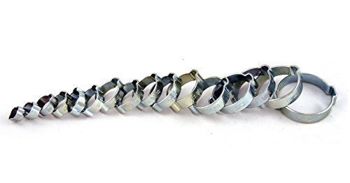 Double tube Tuyau pour Oreille - Paquet de 10 - 31-34mm