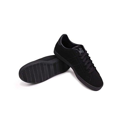 Lonsdale homme ovale Chaussures de sport Chaussures de sport de loisirs chaussures sneakers schnuer Noir - Noir