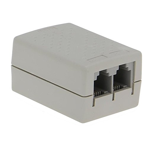 SEDNA - SE-ADSL-SPL-01 Telefon RJ11 Line ADSL Modemfilter/Splitter mit Überspannungsschutz Telefon-splitter