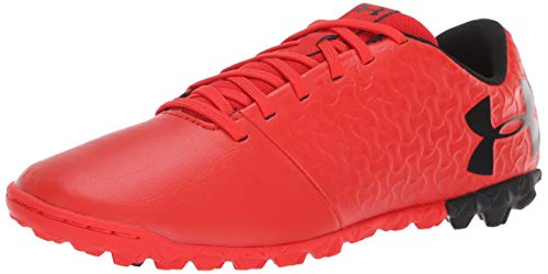 Under Armour UA Magnetico Select TF Jr, Zapatillas de Fútbol Unisex Niños,  Rojo (Radio Red/Black), 33 EU