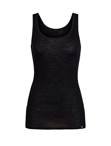 Icebreaker 180 Luxe Long Rib Tank Top Shirt Women - Merinoshirt -