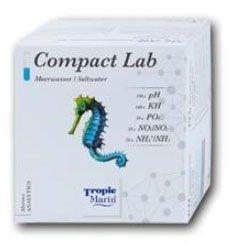 Tropic Marin Compact Lab Meerwasser pH, KH, PO4, NO2/NO3, NH4/NH3, (Nachfolger vom Expert-Testset) -