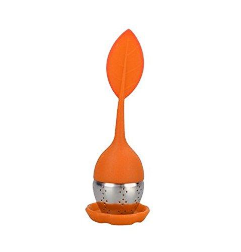 87_ solo a forma di foglia tea-making attrezzature creative Fruit