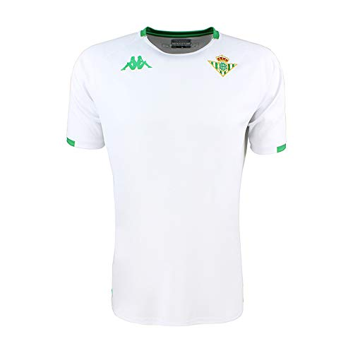 Camiseta de entrenamiento - Real Betis Balompié 2018/2019 - Kappa Abou 2 Jersey - Blanca/Verde - L