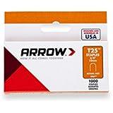 Arrow 160840 T25 Boîte de 1000 Agrafes 10 mm pour câble ø 6 mm