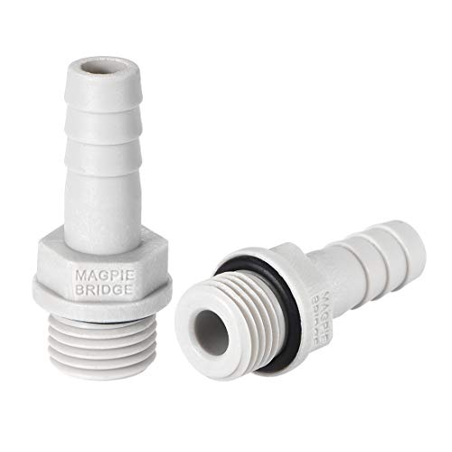 Adapter 1/4 Rohr (sourcing map 2stk PVC Schlauch Anschluss 8mm oder 5/16