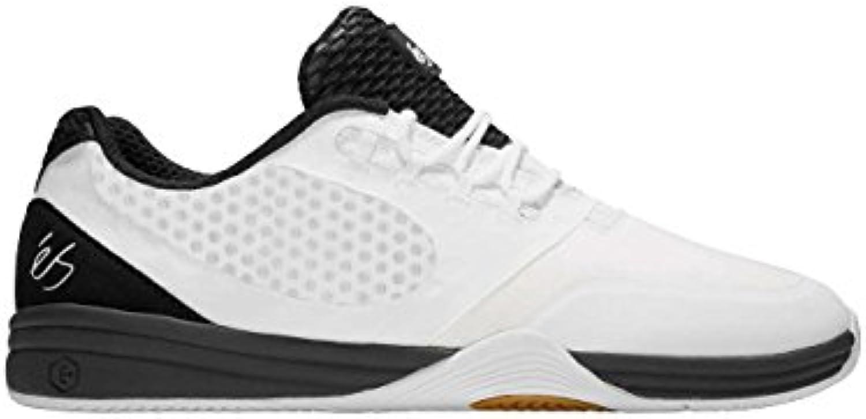 Skate zapato hombres es sesla Skate zapatos, blanco/negro  -