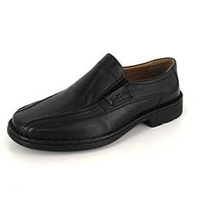 Josef Seibel Herren Slipper Slipper Halbschuh Komfort sportlicher und eleganter Boden Bradford 07 3828823/600 schwarz 132818