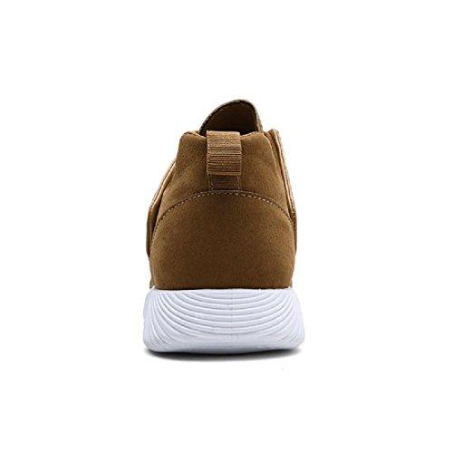 Hommes Chaussures de loisirs Respirant Chaussures de course Chaussures décontractées Formateurs De plein air Accueil parc Chaussures à outils Khaki