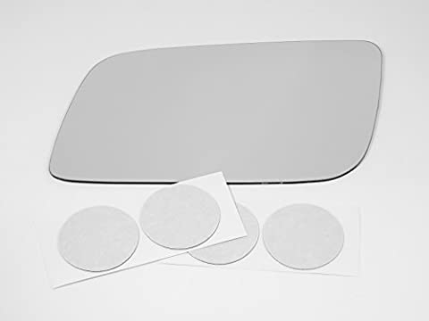 90-05 GMC Safari, Chevy Astro Van Flat, Driver Side Replacement Mirror Glass, USA by Aftermarket Mirrors