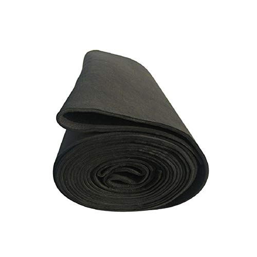 SOFIALXC Graphite Felt Carbon Faser Schweißdecken Schweißermatte Unterlage Für Handwerker Feuerfest Schwarz-Thick 2mmx400x1460mm -
