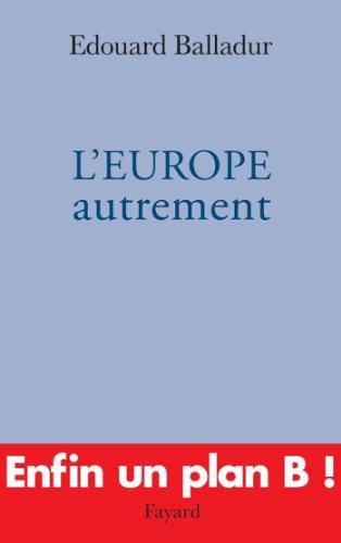 L'EUROPE autrement (Documents)
