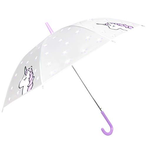 Paraguas Unicornio - Paraguas Transparente Unicornio