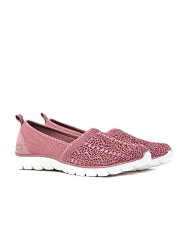 Skechersez Flex 3.0 Duchess - Sandales Pour Femmes Avec Cale Rose