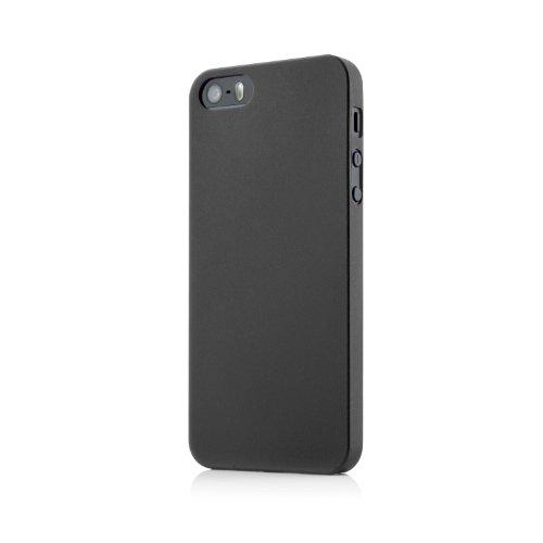 Original MC24® Ultra Thin Case für das iPhone 5S in schwarz aus Polypropylen ULTRA SLIM 0,35mm schwarz