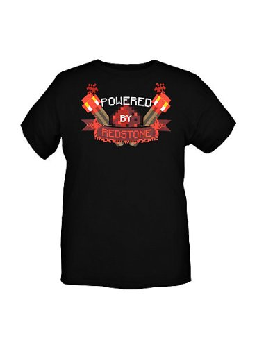Redstone Youth T-Shirt X-Small (Mädchen In Minecraft)
