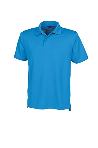 Henbury Coolplus ® Polo-Shirt Blau - Saphirblau