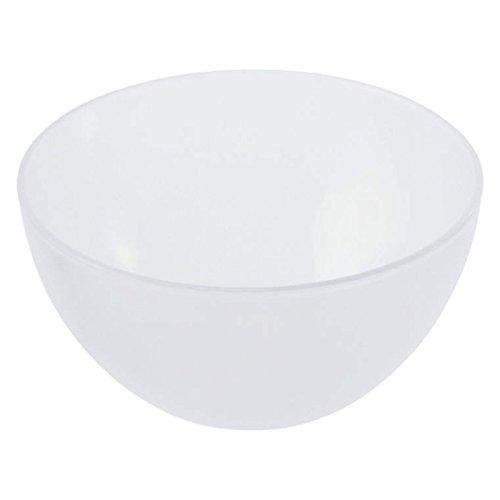 Rotho 1705300096 Schüssel Caruba aus Kunststoff (PP), Inhalt 3 l, circa 22.5 x 22.5 x 11 cm, BPA-frei, transparent