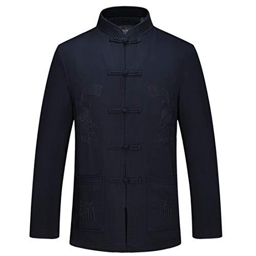 CAI&HONG-Domestics GCC Coat Herren Tang Anzug Jacke, B, 180