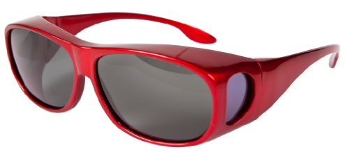 36e09799bb Overglasses Fit Over anteojos de sol Wear over your prescription glasses  Polarised UV400 Wrap around Sports