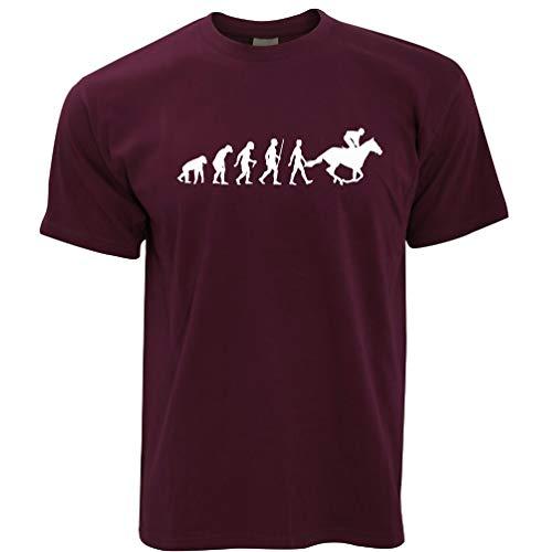 Sport T-Shirt Evolution of Reiten REIT Maroon Small