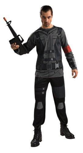 nnor Halloween Costume - Adult Size Xlarge by Rubie´s (Terminator Halloween Kostüm)