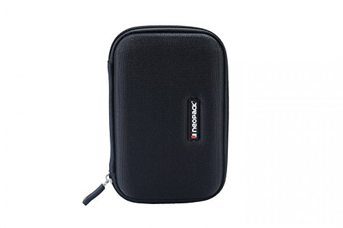 Neopack HDD Hard Case /Cover /Pouch with Shockproof Lining for 2.5 inch Portable Hard Drive - Black (For Seagate, Toshiba, WD, Sony, Transcend)  available at amazon for Rs.379